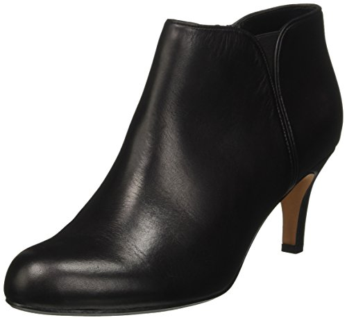 Clarks Women's Arista Paige Boots, Black (Black Leather), 5.5 UK