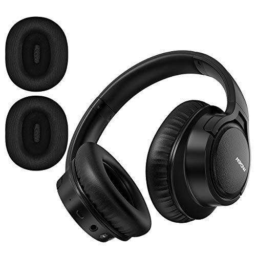 Mpow H7 Plus Auriculares Bluetooth Diadema con aptX, Orejeras Reemplazables, Cascos Bluetooth...