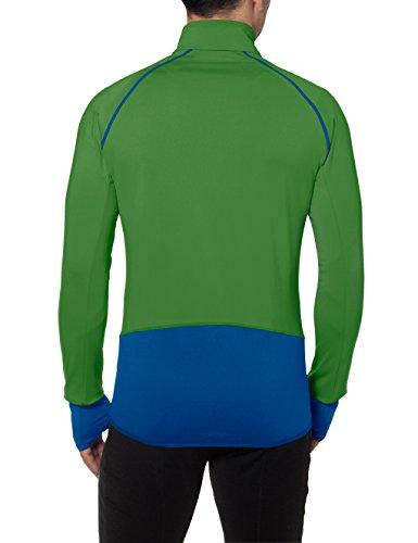 VAUDE Herren Livigno Halfzip Pullover parrot green