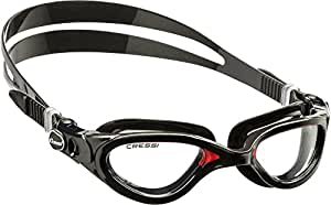 Cressi Flash Swim Goggles Adult - Swimming Goggles For Men - Anti Fog Lens (also Mirrored) - Made in Italy - with Case