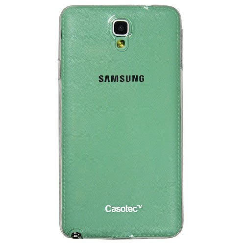 Casotec Soft TPU Back Case Cover for Samsung Galaxy Note 3 Neo - Clear  available at amazon for Rs.149