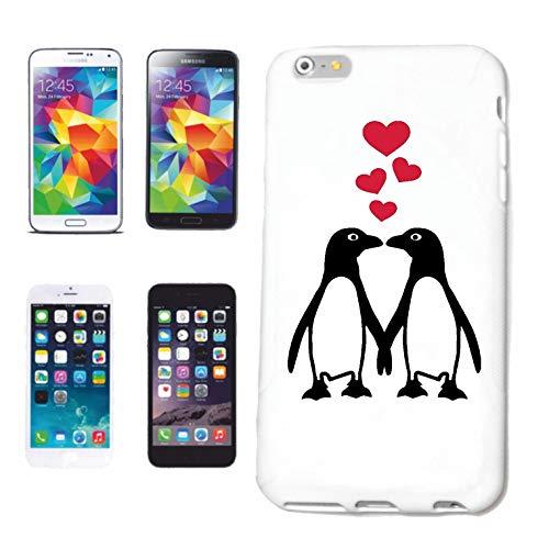 Helene Handyhülle Sony Xperia Z3 VERLIEBTE Pinguine Liebe - Valentinstag - Liebe - Hochzeit - VERLOBUNG Hardcase Schutzhülle Handycover Smart Cover für Sony Xperia Z3 in Weiß