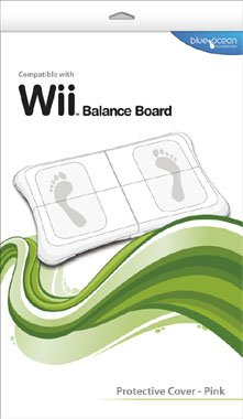 Blue Ocean Accessories Wii Board Protective Cover - Pink (Wii) from Blue Ocean Accessories