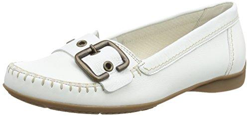 Gabor 42.522.50 Damen Mokassin ,White (White Leather (Natur)) ,6 UK (39 EU) EU
