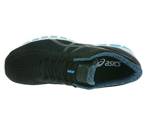 Asics T747n 9090, Scarpe da corsa uomo BLACK/BLACK/ISLAND B