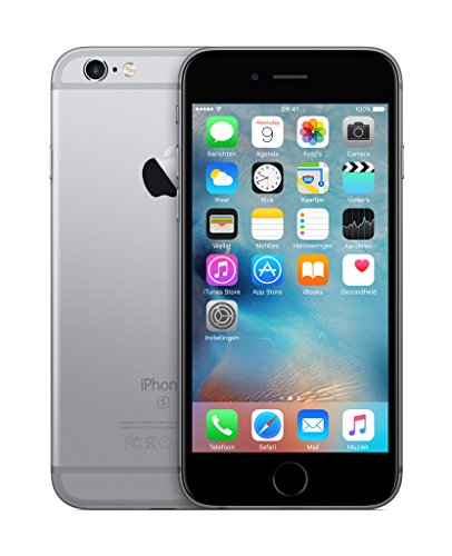 Apple iPhone 6s Smartphone (11,9 cm (4,7 Zoll) Display, 64GB interner Speicher, IOS) grey - 2