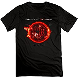 Mens Jean Michel Jarre Electronica Heart Of Noise Short Slev Tee Tshirt XX-Large