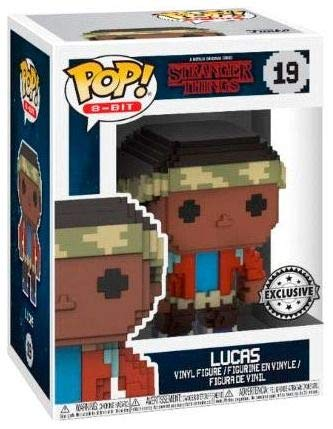 Funko Pop Lucas (Stranger Things 8-Bit 19) Funko Pop Stranger Things