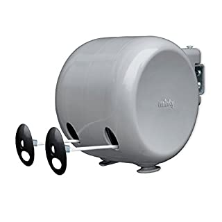 Minky Retractable Reel Washing Line, 30m of drying space