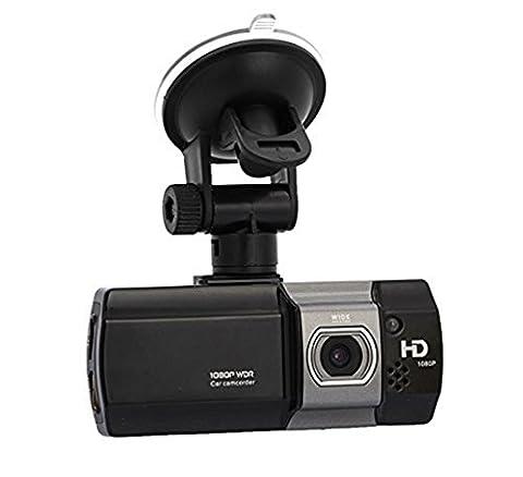 PYRUS 2.7Pouce 170 ° Wide Angel Voiture Dash DVR Caméra