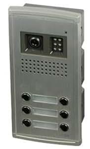 SCS Sentinel SOFIA M10C6 Platine de rue 6 boutons