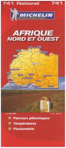 Afrique Nord et Ouest : 1/4 000 000