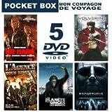 Pocket box 5 films ( Die hard, L'Agence Tous Risques , la planète des singes - les origines -, Wolverine, le combat de l'immortel, Prometheus )