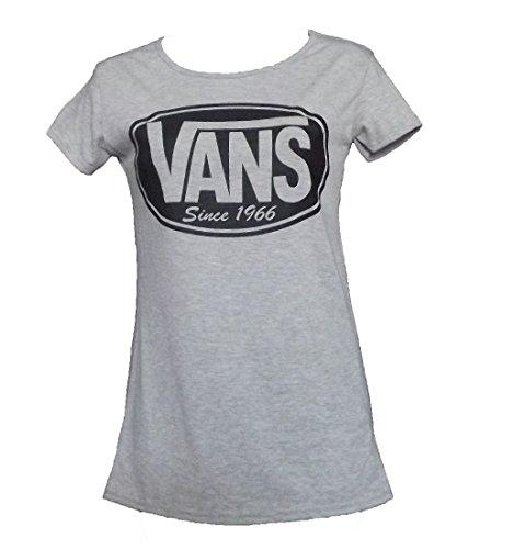 All-star Langarm-t-shirt (NIEUWE DAMES VROUWEN CONVERSE CHUCK TAYLOR ALL STAR CREW NECK T-SHIRT (M/L 40/42, VANS Grau))
