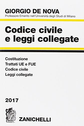 Codice civile e leggi collegate 2017