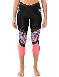 Body Glove mujer cruzado Look At Me Paria Capri Leggings bikini, mujer, Crossover Look At Me Outcast Capri Leggings, multicolor, S amazon el-azul