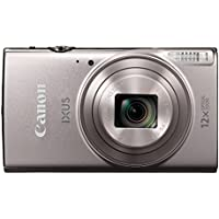 Canon 1079C007AA IXUS 285 Compact Camera with 3 inch LCD Screen - Silver