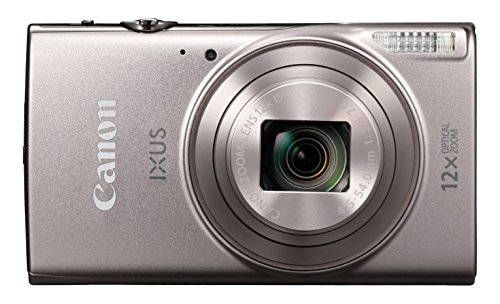 Canon IXUS 285 Compact Camera with 3-Inch LCD Screen - Silver 3x Optical Steady Shot