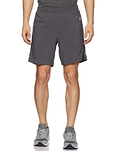 adidas Herren Response Shorts 1/2, Grey Five/Black, XL 7 Zoll (Shorts Kletter-t-shirt)