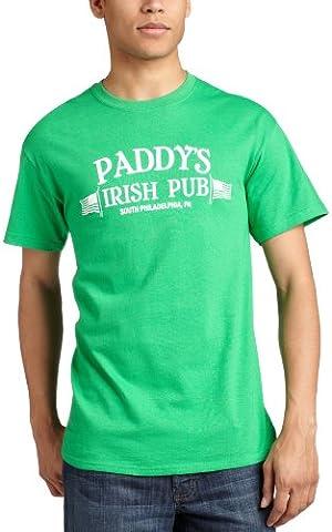 St. Patrick's Day - It's Always Sunny - Paddys Irish Pub T-Shirt Large Green