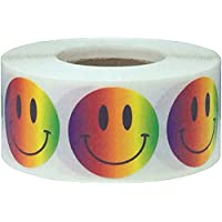 1 Inch Round Smiley Face