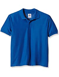 Fruit of the Loom Unisex Kids Polo Shirt