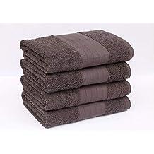 Rockfields 2 o 4 Toallas de baño de 600 g/m², 100% algodón