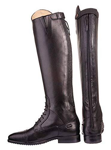 HKM Erwachsene Reitstiefel-Valencia Kinder, Standardlänge/eng9100 schwarz35 Hose, 9100 schwarz, 35