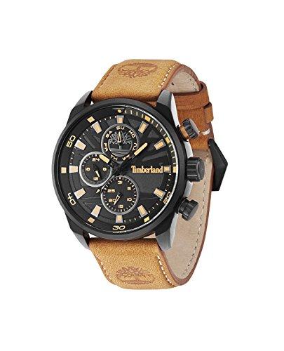 Timberland Watch Reloj Analógico para Hombre de Cuarzo con Correa en Cuero TBL.14441JLB/02