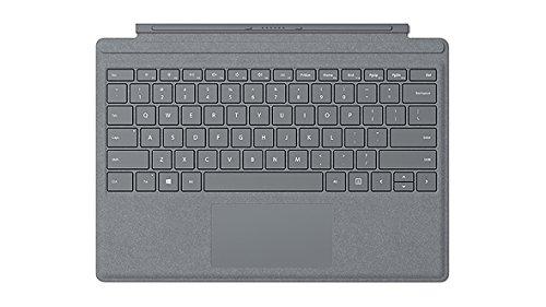 Microsoft Surface Pro Signature Type Cover Tastiera, Retroilluminazione a LED, Platino [ITALIANO]