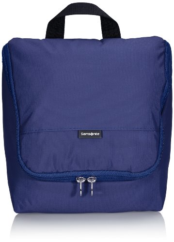 Samsonite Travel Accessor. V Hanging Toiletry Kit Beauty Case, Blu
