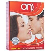 ON Super Thin, 3er Pack Kondome, 3 Stück preisvergleich bei billige-tabletten.eu