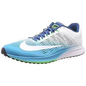 Nike Air Zoom Elite 9, Zapatillas de Running para Hombre, Azul (Chlorine Industrial Blue/Rage Green/White), 44.5 EU