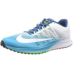 Nike Air Zoom Elite 9, Zapatillas de Running para Hombre, Azul (Chlorine Industrial Blue/Rage Green/White), 41 EU