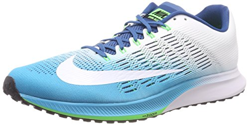 Nike Air Zoom Elite 9, Zapatillas de Running para Hombre, Azul (Chlorine Blue/Industrial Blue/Rage Green/White), 41 EU