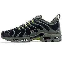 Nike Air Max Plus TN Ultra Negro Textil/sintéticos Zapatillas, Schwarz (Black/Bright Cactus/River Rock)