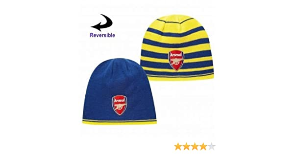 052f6aa11 Official Arsenal FC Reversible Beanie Hat by Puma