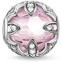 Thomas Sabo Damen-Bead Karma Beads 925 Sterling Silber Zirkonia synthetischer Korund K0108-640-9