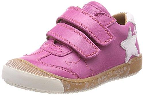 Bisgaard Mädchen Klettschuhe Sneaker, Pink (Pink), 30 EU