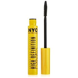 N.Y.C New York Color Mascara High Definition Separating Mascara, Extreme Black, 0.27 Fluid Ounce