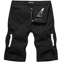 GUOCU Shorts Bermudas Hombre Pantalones Cortos Chino Pantalón Corto Pantalones Para Hombre Con