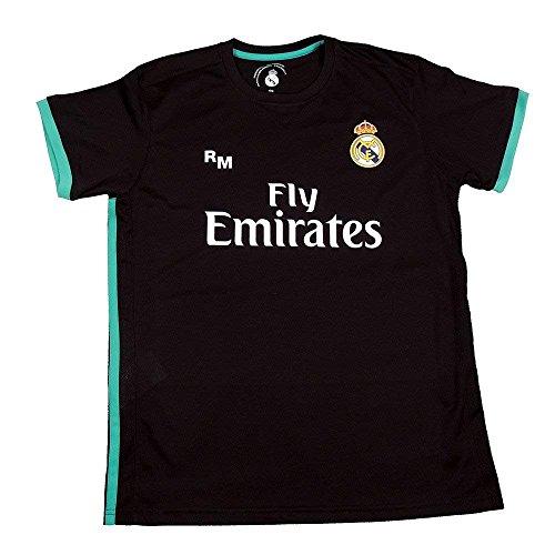 Camiseta Segunda Equipación Replica Oficial Real Madrid Dorsal Sergio Ramos (Talla S)