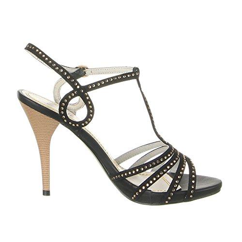 Pantofole Scarpe 16 Scarpe Pantofole 6744 Nero xgnnEa0pz