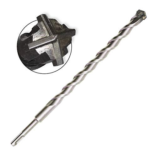 SDS Plus Bohrer langer Steinbohrer Betonbohrer Ø 24 mm x 600 mm Quadro X