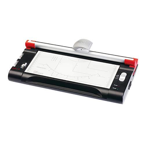 Genie LT-400 2 in 1 Heiß und Kalt Laminiergerät + Papierschneidegerät (DIN A4) silber/schwarz