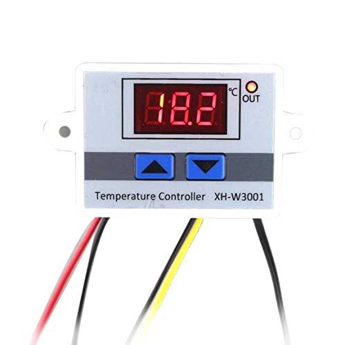 Digitale LED-Temperaturregler Thermostat-Bedienschalter Wasserdichte Sonde Draht Connect Hohe Empfindlichkeit Temperatursensor - 4-draht-thermostat