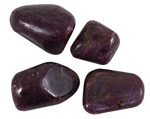 HARMONIZE Rubí roulées tamaño clasificado Piezas Piedras- 4 Reiki Naturel
