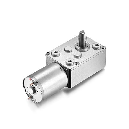 sourcingmapr-uxcell-dc-12v-6rpm-6mm-shaft-high-torque-turbine-worm-geared-motor