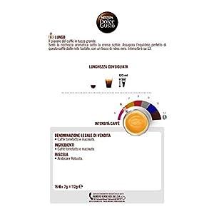 NESCAFÉ DOLCE GUSTO LUNGO Caffè - Confezione da 16 capsule