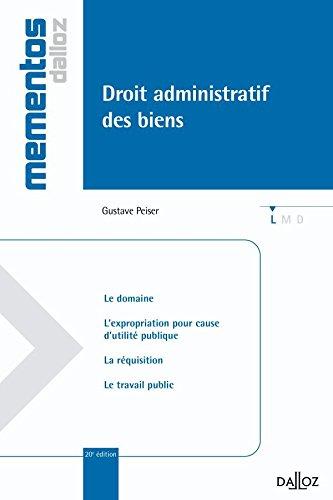 Droit administratif des biens - 20e éd.: Mémentos